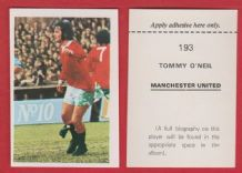 Manchester United Tommy O`Neill